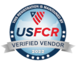 US Federal Contractor Registration's System for Award Management Verified Vendor Seal